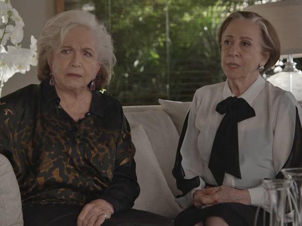 Será que Teresa vai engolir essa história? (Foto: TV Globo)