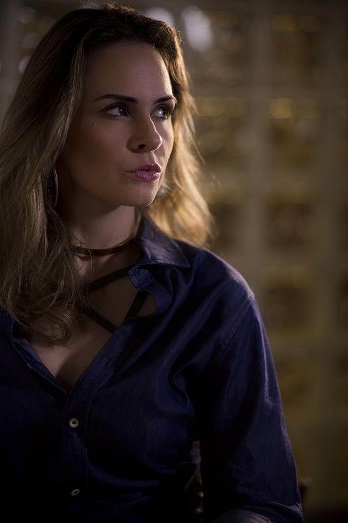 Sexy sem ser vulgar, isso é Ana Paula (Foto: Raphael Dias/Gshow)