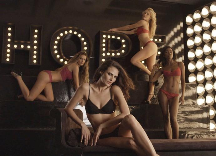Uma campanha com Fernanda Tavares e essas modelos é sucesso na certa! (Foto: Divulgação/TV Globo)