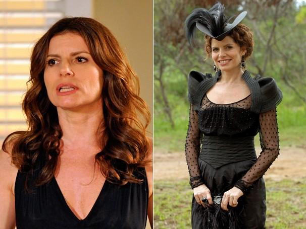 Em Avenida Brasil (2012) viveu Verônica, e em Cordel Encantado (2011) era a Duquesa Úrsula  (Foto: CEDOC Globo)