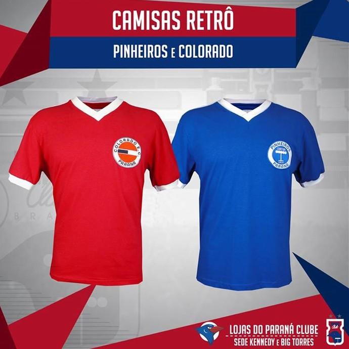 f64e406218 Camisa Paraná Clube Colorado Pinheiros (Foto  Site oficial do Paraná  Clube Divulgação)