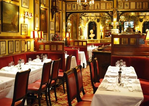 Rules, o restaurante mais antigo da Inglaterra em atividade (Foto: Divulgação)