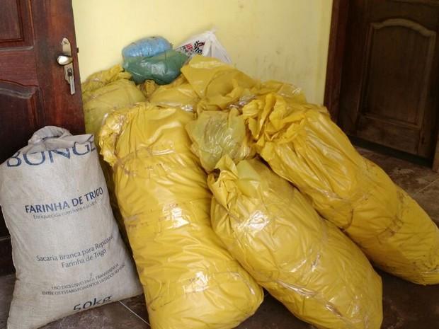 Drogas abasteceriam toda região da Baixada Maranhense (Foto: Divulgação/SSP-MA)
