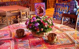 Festa junina: decoração colorida e alegre, por blog 40 Forever