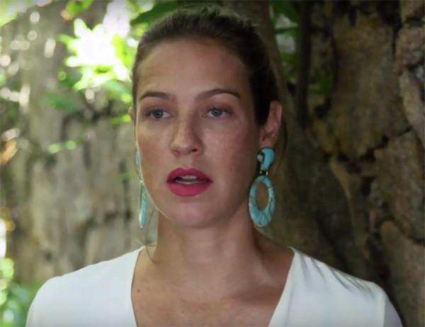 Luana Piovani faz depoimento em vídeo dizendo ter praticado bullying na escola (Foto: Reprodução / Instagram)