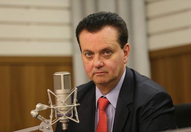O ministro da Ciência, Tecnologia, Inovações e Comunicações, Gilberto Kassab , na Voz do Brasil (Foto: Fabio Rodrigues Pozzebom/Agência Brasil)