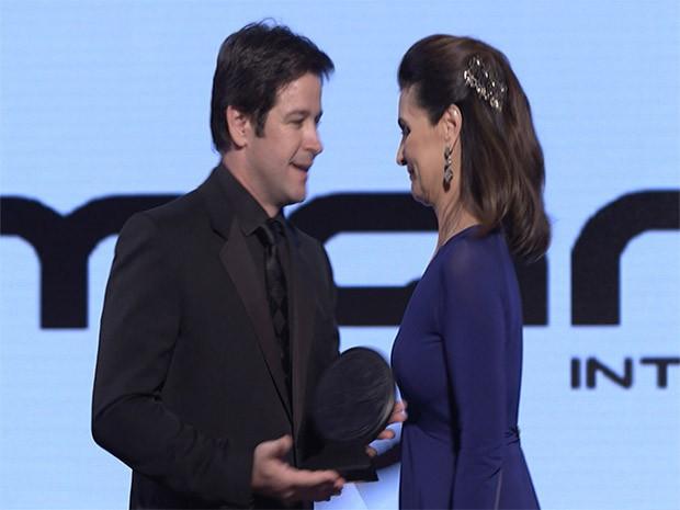 Jonas Marra e Fátima Bernardes (Foto: Marra Brasil)
