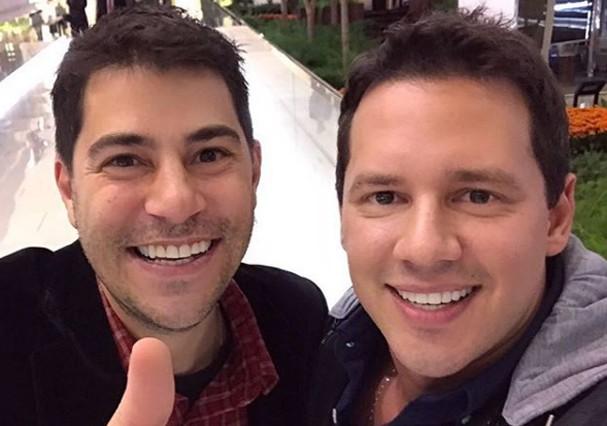 Evaristo Costa e Dony Denuccio (Foto: Instagram/Reprodução)