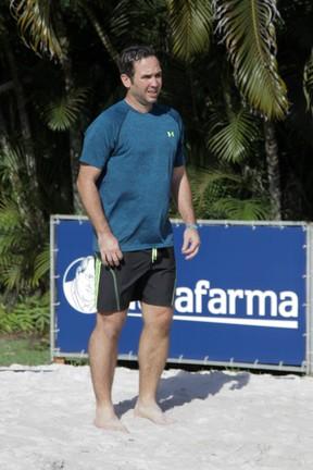 Caio Ribeiro joga vôlei durante evento em Trancoso, na Bahia (Foto: Marcos Ribas/ Brazil News)