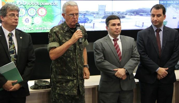 plano de segurança Manaus 2016 (Foto: Matheus Castro)