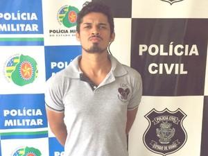 Preso em Goiás suspeito de matar servidor da Defensoria Pública do TO (Foto: Divulgação/SSPTO)