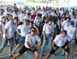 Dia do Desafio em Porto Velho (Foto: Semes/ Divulgação)