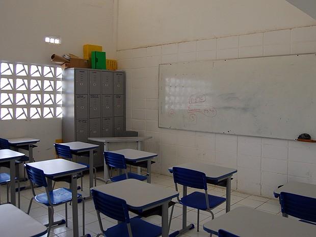 Salas estão sendo usadas em cursos preparatórios e servirão à UEPB (Foto: Diogo Almeida/G1 PB)