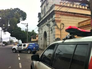 Cadeia Pública Raimundo Vidal Pessoa, em Manuas (Foto: Patrick Motta/ Rádio Amazonas FM)