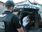 Polícia faz operação contra grupo suspeito de roubo de veículos em GO