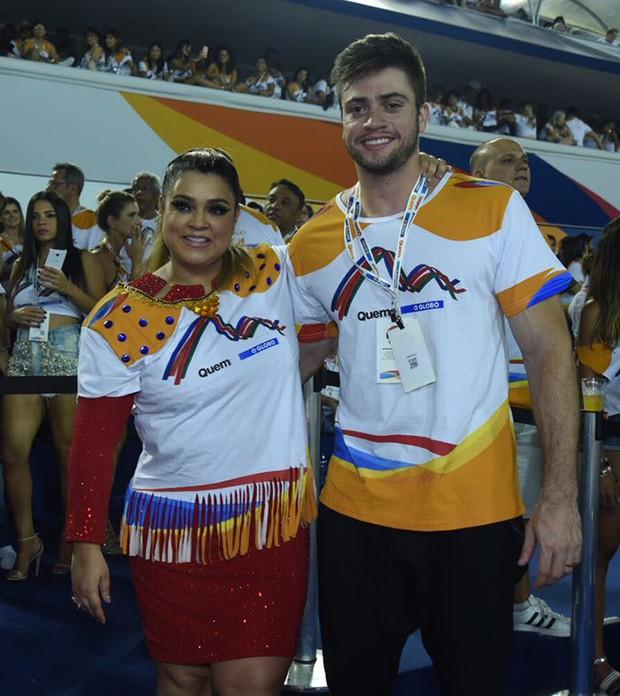 Preta Gil e Rodrigo Godoy (Foto: Renato Wrobel/ Ed. Globo)
