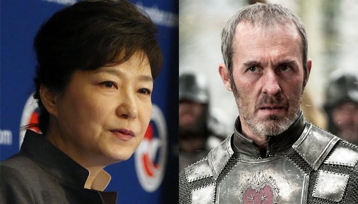 Park Geun-Hye e Stannis Baratheon (Foto: Wikimedia/Divulgação)