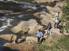 Corpo é encontrado com perfurações e boiando em rio (Arquivo pessoal/Alex Almeida)