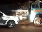 Motorista é preso por transportar pasta base de cocaína em rodovia