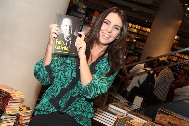 Glenda Kozlowski no lançamento da biografia de Galvão Bueno no Rio (Foto: Thyago Andrade/Fotorio News)