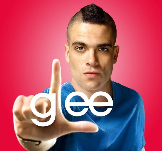 Mark Salling como Puck em 'Glee' (Foto: Reprodução)