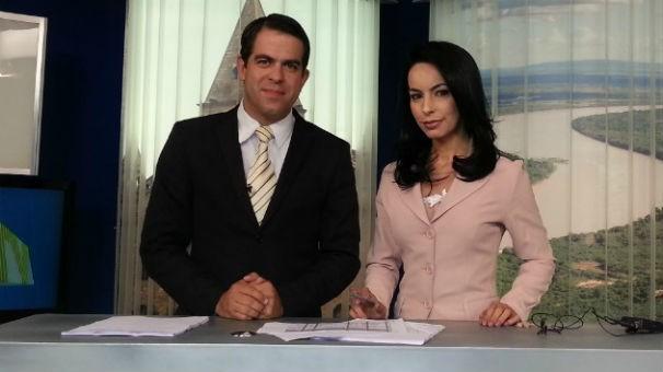 Délio Pinheiro e Maira Botelho apresentam o MG Inter TV 1ª Edição  (Foto: Inter TV)