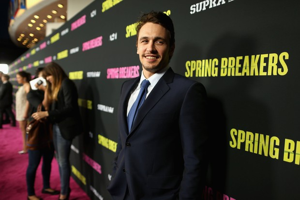 James Franco em première de filme em Los Angeles, nos Estados Unidos (Foto: Christopher Polk/ Getty Images/ AFP)