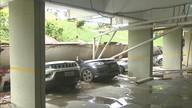 Dois meses após desabamento na 210 Norte, moradores continuam com garagem interditada