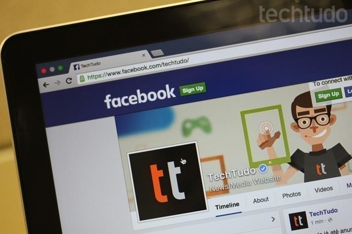 Como criar listas de interesse no Facebook; conheça a ferramenta (Foto: Melissa Cosseti/TechTudo)