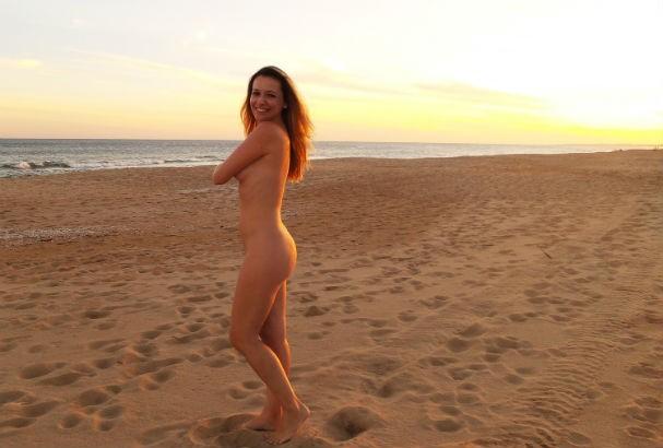 """""""O nudismo traz satisfação, bem estar, saúde física e mental"""" (Foto: Brasil Naturista)"""