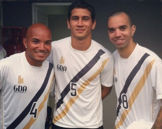 Juninho Tardelli irmão Diego Tardelli Paulo henrique Ganso (Foto: Reprodução/Instagram)