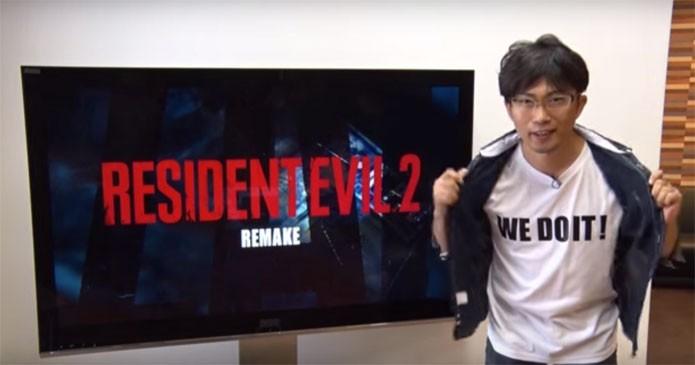 Produtor anuncia remake de Resident Evil 2, da Capcom (Foto: Reprodução/YouTube)