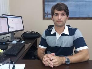 Alexandre Monteiro, da Promotoria da Infância e Juventude do MP-AP (Foto: John Pacheco/G1)