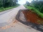 Com desmoronamento na estrada do AC, Dnit não descarta interdição