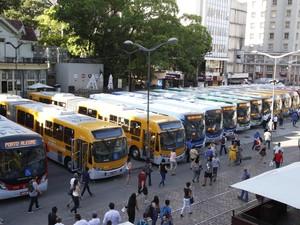 Novos ônibus de Porto Alegre são apresentados (Foto: Ricardo Giusti/PMPA)