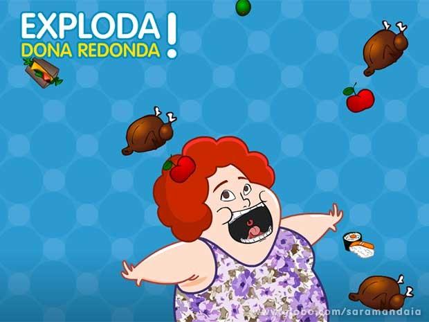 Ela come de tudo, mas se engolir cebolas, você perde pontos  (Foto: TV Globo/ Saramandaia)