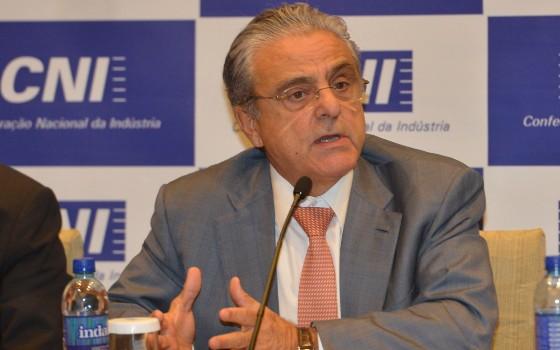 Robson Braga de Andrade, presidente da CNI (Foto: José Paulo Lacerda/ CNI)