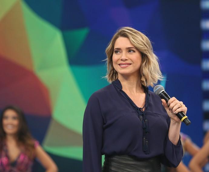 Letícia Spiller diz que não descarta engravidar outra vez (Foto: Carol Caminha/Gshow)
