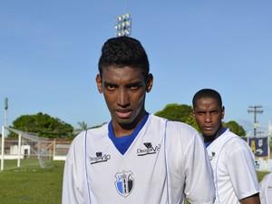 Gol de Edinaldo 'Mistura' garante vitória ao Ypiranga contra o Maranhão (Foto: Jonhwene Silva/GE-AP)