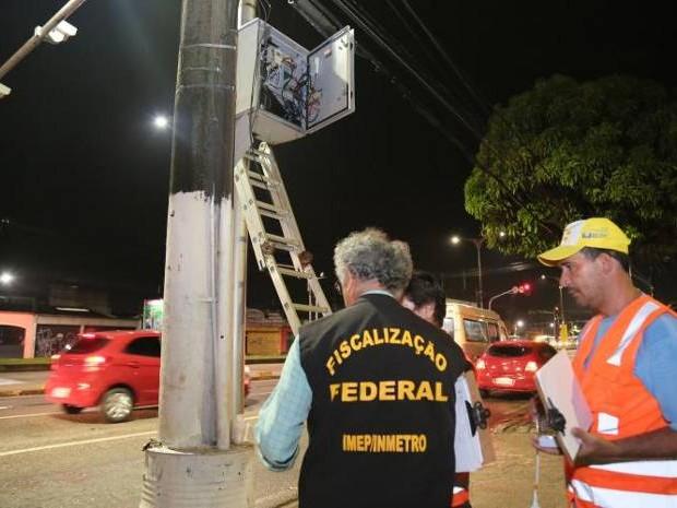 Semob inicia instalação de novos radares em Belém (Foto: Comus PMB)