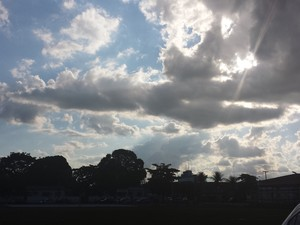 Sábado será de sol forte em Porto Velho, RO (Foto: Ivanete Damasceno/G1)