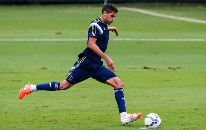Alan Kardec, Palmeiras jogo-treino Guarujá (Foto: Leandro Martins/Futura Press)