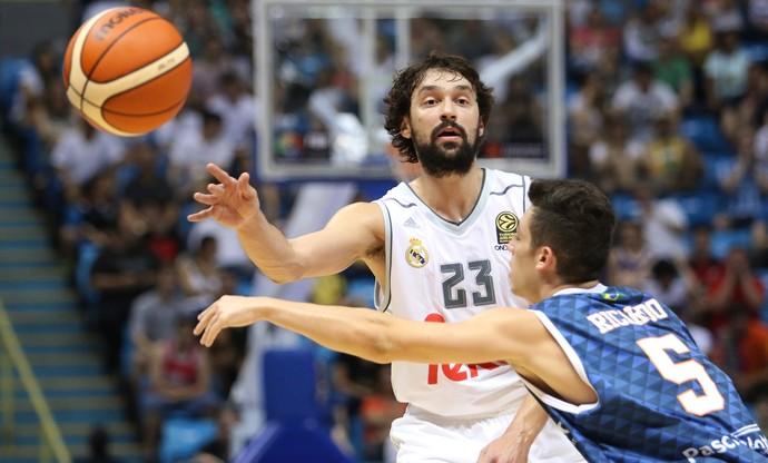 Bauru, Real Madrid, Intercontinental, Basquete, Ibirapuera, Sergio Llull (Foto: Divulgação/ FIBA Americas)