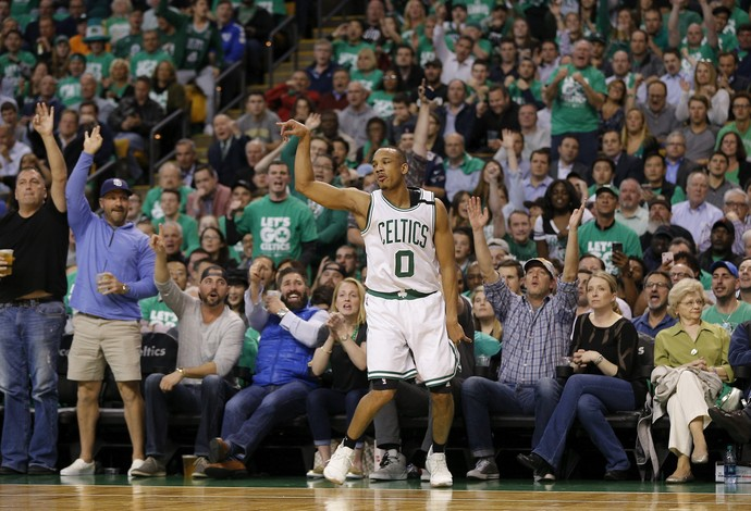 Avery Bradley, Boston Celtics x Washington Wizards (Foto: EFE)