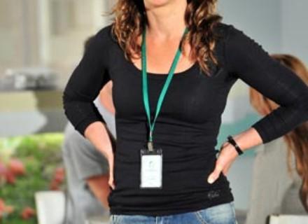 Vanessa Lóes grava suas primeiras cenas ao lado do marido, Thiago Lacerda