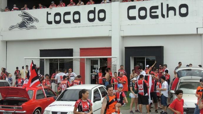 Arena Joinville (Foto: Diego Madruga)