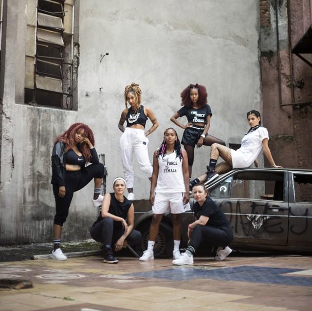 Nike reúne 7 mulheres para celebrar a força feminina em nova coleção (Foto: Ju Colinas)