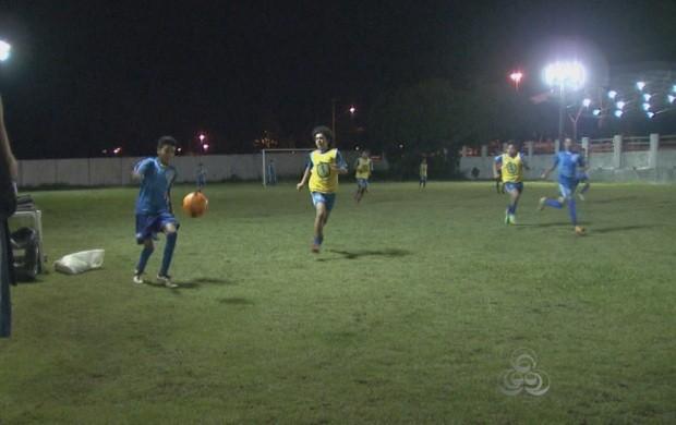 Jogadores de Roraima são selecionados em peneira do Internacional (Foto: Bom Dia Amazônia)