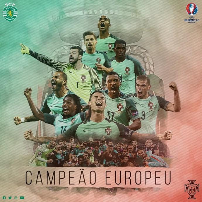 Sporting portugal campeao euro (Foto: Reprodução)