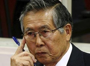 O ex-presidente peruano Alberto Fujimori, que tem câncer de boca. (Foto: AFP)